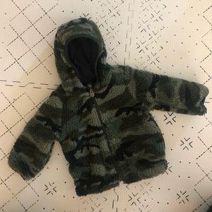 Gap Baby Sherpa Camo Jacket